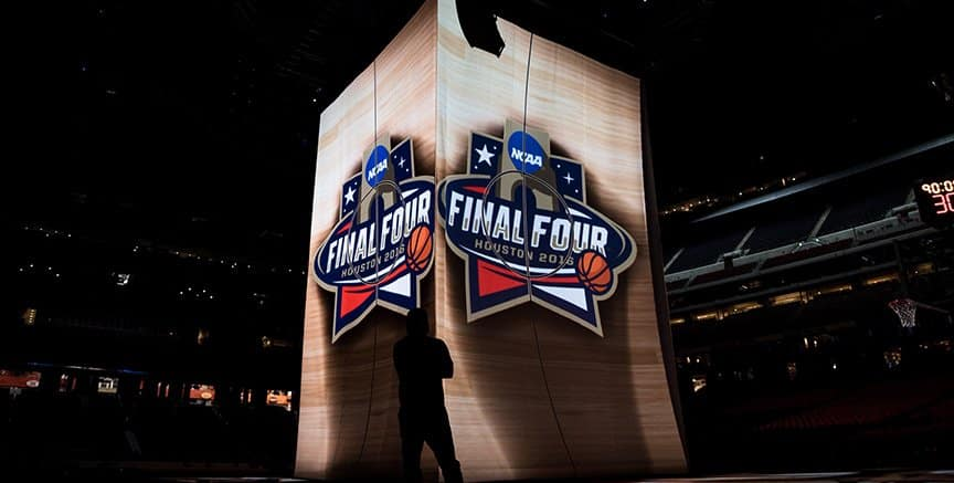NCAA FINAL FOUR 3D PROJECTION MAPPING